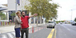 Castellón concluye el proyecto de mejora de la accesibilidad en 17 paradas de autobús
