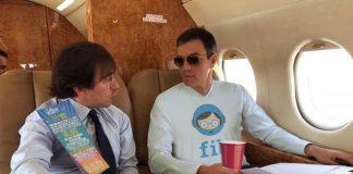 Sánchez veta totes les preguntes i peticions de Compromís sobre l'ús i abús del Falcon presidencial