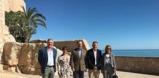 El Castillo de Peñíscola se incorporará a la Asociación de Grandes Castillos de España para promover el turismo