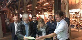 La alcaldesa publicita Escala Castelló en los Países Bajos y 'ficha' a dos barcos holandeses para el 2020