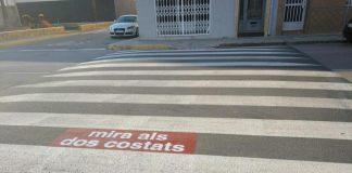 Moncofa redueix la velocitat dels vehicles en el nucli urbà i millora la seguretat viària dels vianants