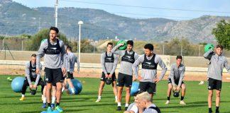 El Castelló va tornar al treball aquest dimarts per a preparar la final contra el Conquense del dissabte en Castàlia
