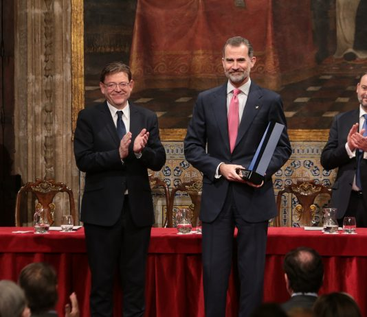 """Puig: """"Felipe VI ha estat a l'altura de l'escenari polític i no ha involucrat a la Corona en el partidisme"""""""
