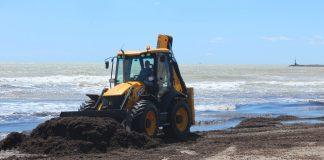 Borriana inicia una nova campanya de neteja i condicionament de les seues platges