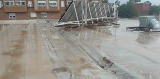 La reconstrucció del sostre del José Soriano, més prop, amb la delegació de competències a Vila-real per part d'Educació
