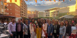 L'Esclat de Festa des de la plaça Major anuncia l'inici de les festes de Santa Quitèria a Almassora