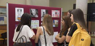 Alumnat universitari i de secundària realitza una exposició sobre igualtat i respecte a les aules en l'UJI