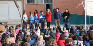 El CEIP Sanchis Yago de Castelló estrena nou pati i sala de jocs, gràcies als pressupostos participatius