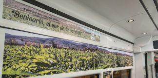 Benicarló i Renfe presenten l'exposició fotogràfica 'Benicarló, el Cor de la Carxofa'