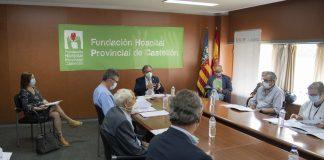 Martí avala el Pla Estratègic 2020-2023 de la Fundació Hospital Provincial de Castelló