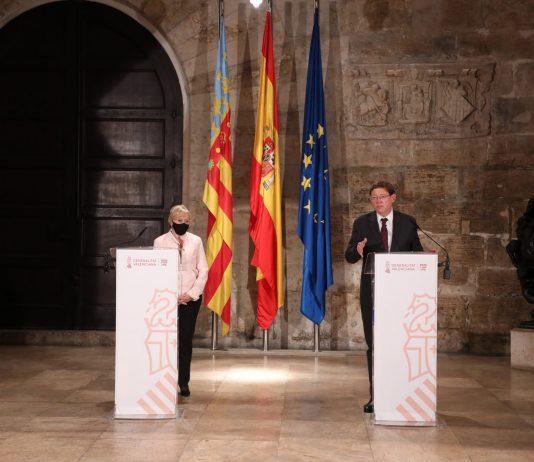 La Comunitat Valenciana ajorna el 'toc de queda' però demana el dictamen jurídic per al seu establiment