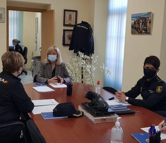 Gabriela Bravo anuncia l'augment de la dotació policial de l'Oficina de Denúncies de Violència de Gènere