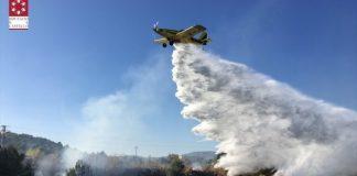 La Generalitat reforça la vigilància de prevenció d'incendis forestals