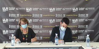 Marzà i la rectora de L'UJI detallen les bases per a tramitar el Centre d'Innovació Educativa i Tecnologies